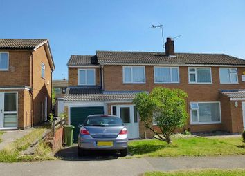 Thumbnail 4 bed semi-detached house to rent in Isis Close, Oadby, Leicester