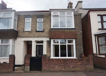 Thumbnail 3 bed semi-detached house for sale in Cross Road, Gorleston, Great Yarmouth