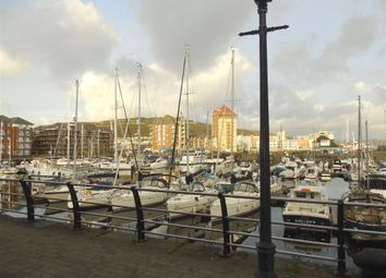 Thumbnail 1 bed flat for sale in Abernethy Quay, Trawler Road, Swansea