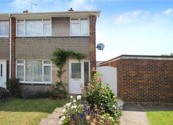 Thumbnail 3 bed end terrace house for sale in Orchard Gardens, Rustington, Littlehampton