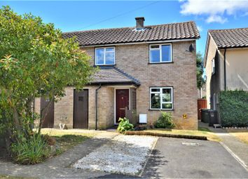 Thumbnail 2 bed semi-detached house for sale in Darley Close, Wittering, Peterborough