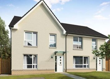 Thumbnail 3 bed semi-detached house for sale in Baron's Vale, Mcduff Street, Glasgow