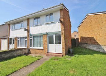 Thumbnail 3 bed semi-detached house for sale in Babbages, Bickington, Barnstaple