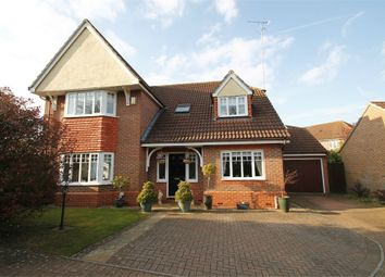 Thumbnail 4 bed detached house for sale in Rush Close, Rushmere St Andrew, Ipswich, Suffolk