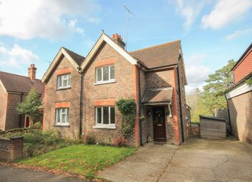Thumbnail 3 bed semi-detached house for sale in West Hill, East Grinstead