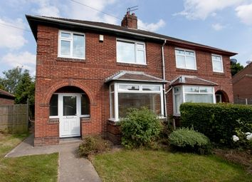 Thumbnail 3 bedroom semi-detached house to rent in New Lane, Huntington, York