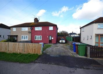 Thumbnail 3 bed semi-detached house to rent in Brennan Road, Tilbury