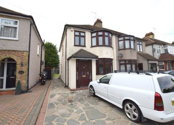 Thumbnail 4 bed semi-detached house for sale in Sussex Avenue, Harold Wood, Romford