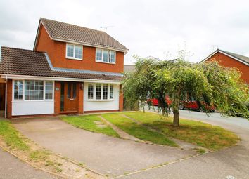 Thumbnail 3 bed detached house for sale in Ganges Road, Shotley Gate, Ipswich