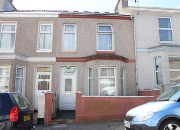 Thumbnail 3 bed terraced house for sale in Desborough Road, Plymouth