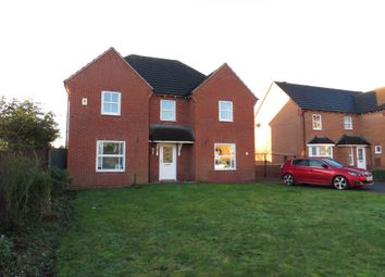 Thumbnail 4 bed detached house for sale in John Gold Avenue, Newark