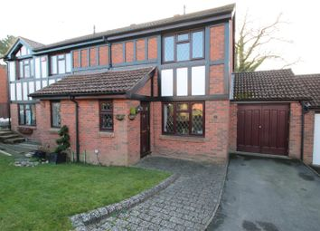 Thumbnail 3 bed semi-detached house for sale in Thorndyke Close, Maidenbower, Crawley