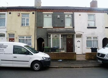 Thumbnail 2 bed terraced house for sale in Burlington Road, West Bromwich