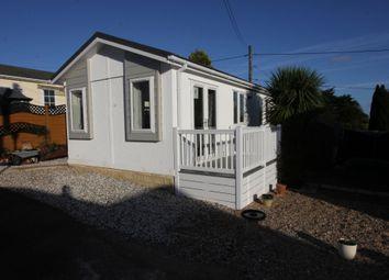 Thumbnail 2 bedroom mobile/park home for sale in St. Davids Park, Totnes Road, Paignton