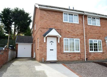 Thumbnail 2 bedroom semi-detached house to rent in Sycamore Drive, Barnfields, Newtown, Powys