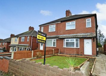 Thumbnail 3 bed semi-detached house for sale in Crackley Bank, Red Street, Newcastle-Under-Lyme