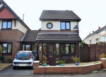 Thumbnail 2 bed link-detached house for sale in Clos Burlais, Swansea