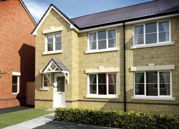 Thumbnail 3 bedroom semi-detached house for sale in The Nash. Cae Sant Barrwg, Pandy Road, Bedwas