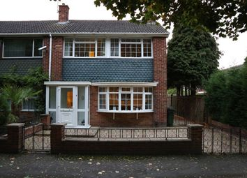 Thumbnail 3 bed town house for sale in Shanklin Gardens, Leicester Forest East