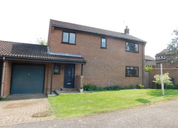 Thumbnail 4 bed detached house for sale in Middlefield Drive, Great Finborough, Stowmarket