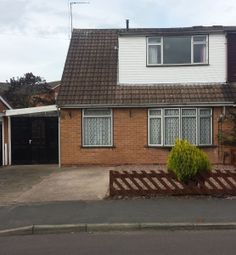 Thumbnail 4 bed semi-detached house to rent in Boughey Road, Newport