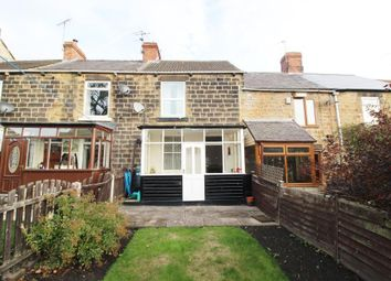 Thumbnail 2 bed terraced house for sale in The Square, Harley, Rotherham, South Yorkshire