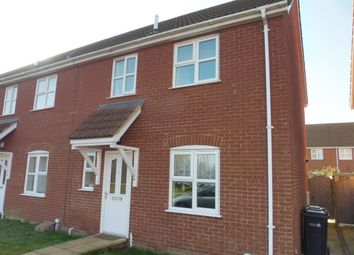 Thumbnail 3 bedroom end terrace house to rent in Ostlers Road, Downham Market
