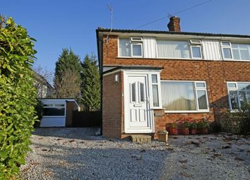 Thumbnail 3 bed semi-detached house for sale in Littlebrook Close, Cheadle Hulme, Cheshire