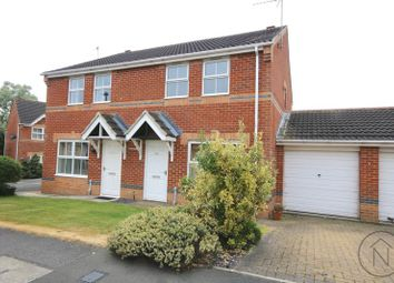 Thumbnail 3 bed semi-detached house for sale in Kestrel Court, Newton Aycliffe