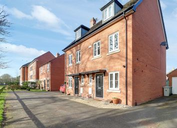 Thumbnail 3 bed semi-detached house for sale in John Clare Close, Oakham