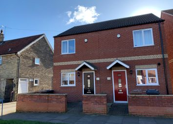 Thumbnail 2 bedroom semi-detached house for sale in Queen Elizabeth Road, Lincoln