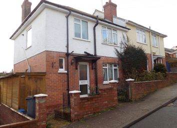 Thumbnail 3 bed semi-detached house for sale in Vale Road, Exmouth, Devon