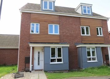 Thumbnail 4 bed town house for sale in Barmston Road, Teal Park Farm, Washington