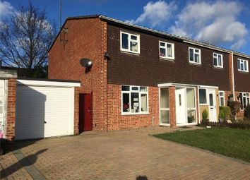 Thumbnail 3 bed semi-detached house to rent in Middlefields, Ruscombe, Reading, Berkshire