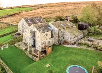 Thumbnail 5 bed detached house for sale in Bell House And Barn, Cragg Vale, Hebden Bridge