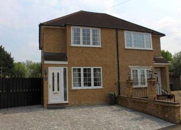 Thumbnail 3 bedroom semi-detached house to rent in Warwick Avenue, Egham, Surrey