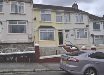 Thumbnail 3 bedroom terraced house to rent in Sturdee Road, Stoke, Plymouth
