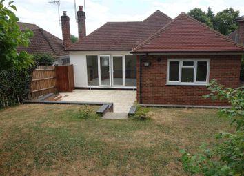 Thumbnail 3 bed detached bungalow to rent in Cranmore Gardens, Aldershot