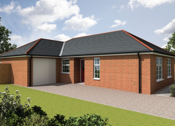 Thumbnail 3 bed bungalow for sale in Curtis Drive, Coningsby, Lincolnshire
