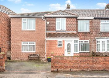 Thumbnail 4 bed semi-detached house for sale in West Vallum, Denton Burn, Newcastle Upon Tyne