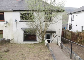 Thumbnail 3 bed semi-detached house for sale in Maeshafod, Blaina, Abertillery