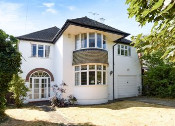 Thumbnail 4 bedroom detached house for sale in Holmwood Road, Cheam, Sutton