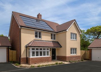 "Thumbnail 5 bedroom detached house for sale in ""The Chester"" at Chivenor, Barnstaple"