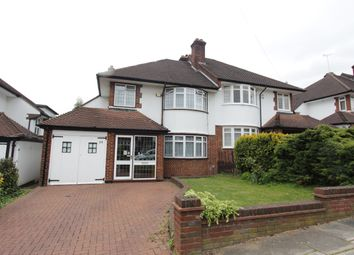 Thumbnail 3 bed semi-detached house to rent in Broadfields Avenue, London