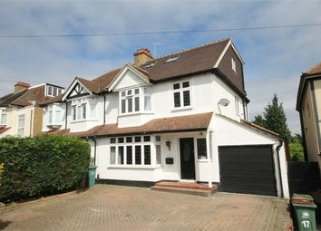 Thumbnail 4 bed semi-detached house for sale in Sussex Road, Carshalton, Surrey
