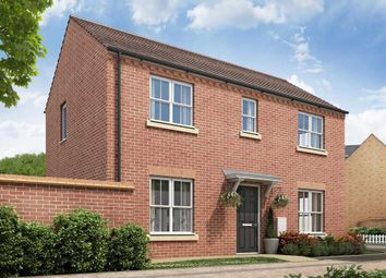 """Thumbnail 3 bed detached house for sale in """"Easedale - Plot 126"""" at Barkby Road, Syston, Leicester"""