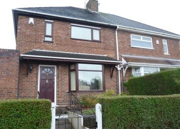Thumbnail 3 bed semi-detached house to rent in East Crescent, Sneyd Green, Stoke-On-Trent