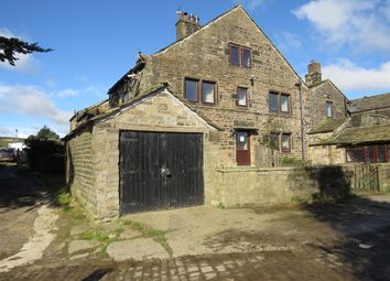 Thumbnail 3 bed end terrace house for sale in Clough Cottages, Ripponden, Sowerby Bridge