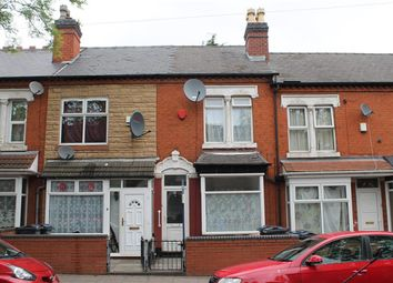 Thumbnail 3 bedroom terraced house to rent in Greenhill Road, Handsworth, Birmingham