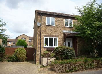 Thumbnail 3 bedroom semi-detached house to rent in Burghley Court, Great Holm, Milton Keynes